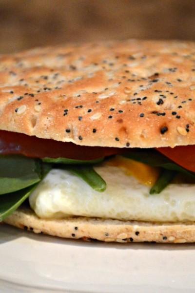 Five Ingredient Egg White Breakfast Sandwich