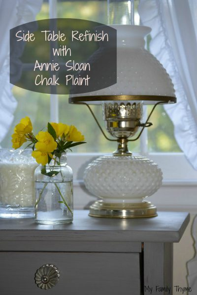 Side Table Refinish with Annie Sloan Chalk Paint