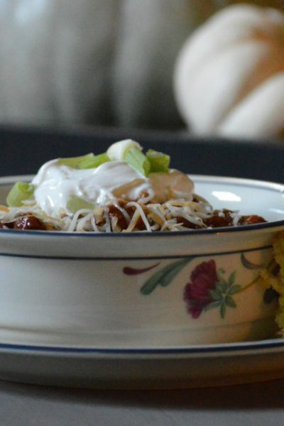 Easy and Delicious Crockpot Chili