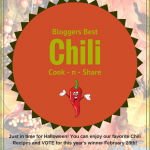 Blogger's Best Chili Cook – n – Share