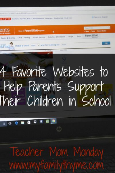 Four Favorite Websites for Parents