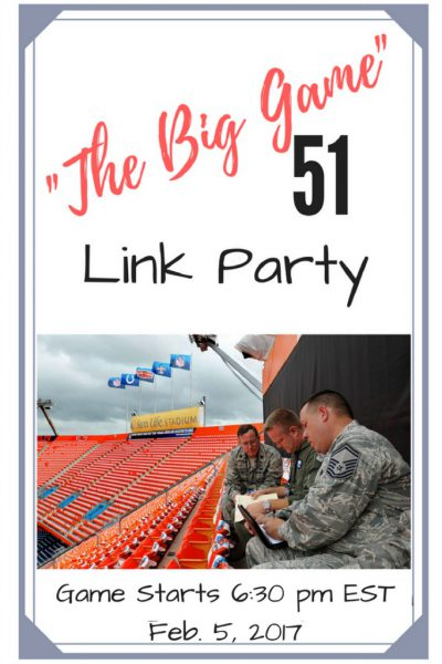 The Big Game Link Party