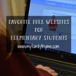 Favorite Free Websites for Elementary Students