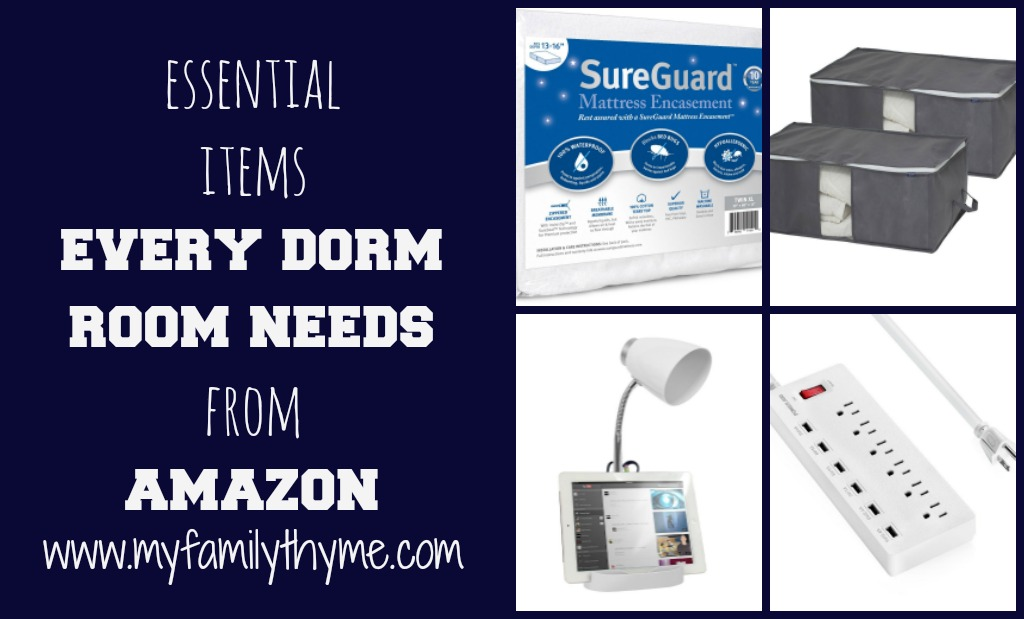 Essential Items Every Dorm Room Needs From Amazon
