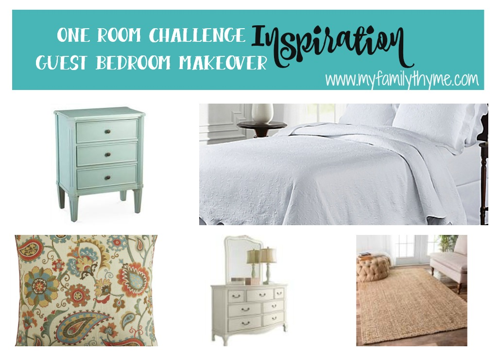 One Room Challenge Week 1 Guest Bedroom Makeover