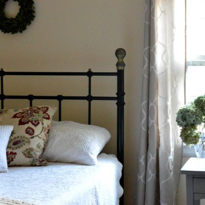Guest Room Refresh:  One Room Challenge Reveal