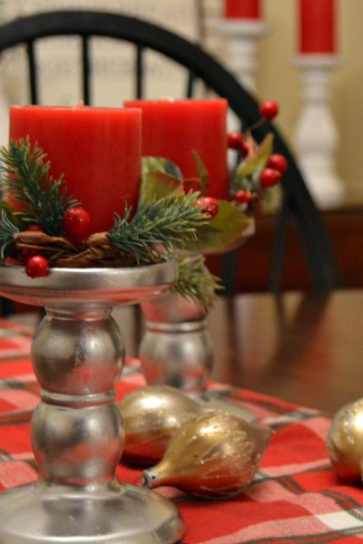 DIY Dollar Tree Candlesticks