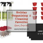 Holiday Organizing & Cleaning Favorites from Amazon
