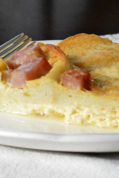 Lightened Up Egg Strata