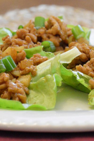 February Pinterest Challenge: Damn Delicious PF Chang's Chicken Lettuce Wraps