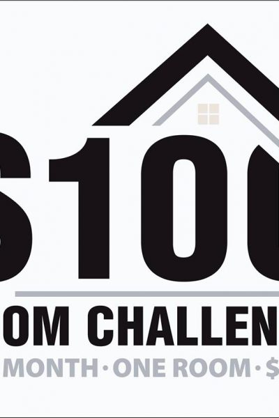 $100 Room Challenge:  The Master Bedroom Plan