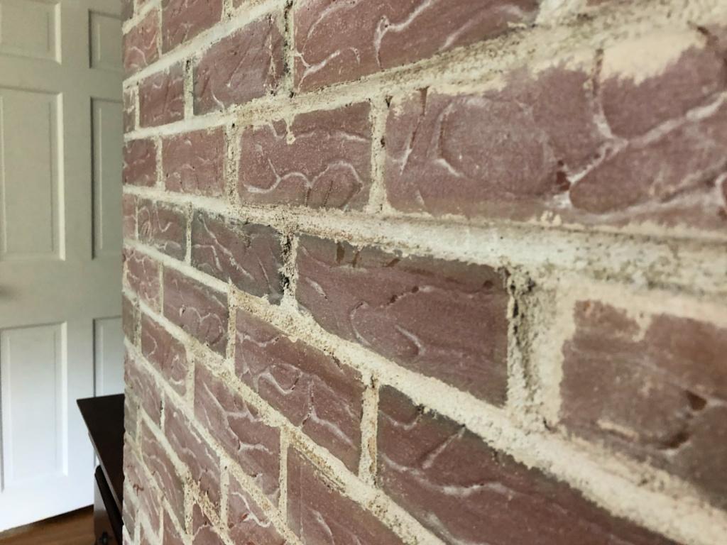 $100 Room Challenge: How to Whitewash Brick Using Chalk Paint
