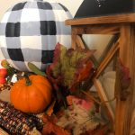 DIY Buffalo Plaid Painted Pumpkins