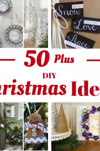 50 Plus DIY Christmas Ideas