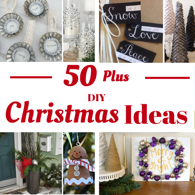50 Plus DIY Christmas Ideas