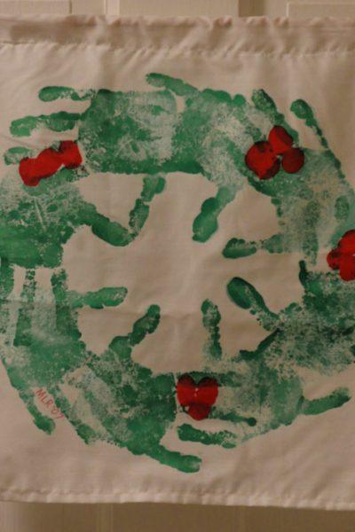 Handprint Wreath: A Child's Keepsake Craft