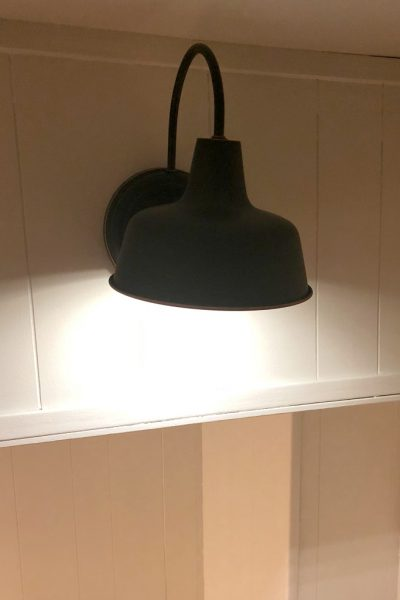 DIY Wireless Wall Sconce