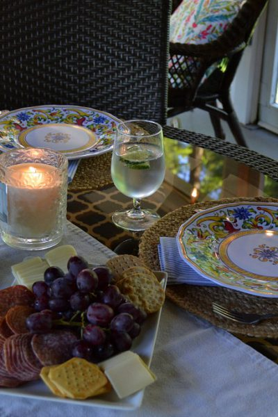 Welcome Summer Tablescape