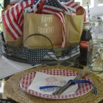 Patriotic Picnic Tablescape