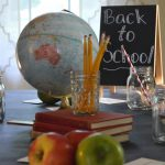 Vintage Inspired Back to School Tablescape