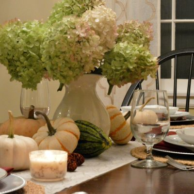 Welcome Fall Nature-Inspired Tablescape