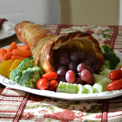 Make a Bread Cornucopia for Thanksgiving