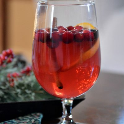 Sparkling Cranberry Orange Sangria