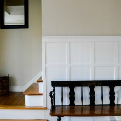 Simple and Inexpensive DIY Board and Batten Wall