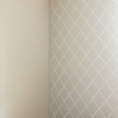 How to Use a Wall Stencil to Create an Accent Wall