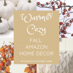Warm and Cozy Fall Amazon Home Decor
