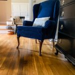 Update an Old Chair With a Slipcover