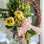 Easy Spring Floral Wreath