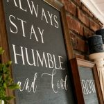 DIY Farmhouse-Style Sign
